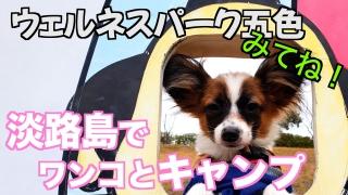 淡路島キャンプ『ウエルネスパーク五色』で一泊キャンプ!